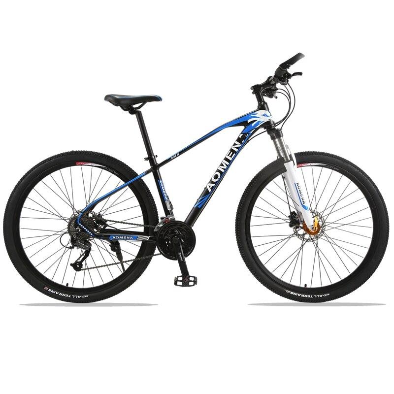 Горный велосипед 27 Скорость 29 дюйм(ов) велосипед 29 дорожный мотоцикл сопротивление резиновая велосипед Скорость мужской Летающий Leopard RU ...