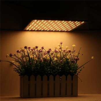 Smuxi 45 w 225 LED s Fitolampa phyto-lampe LED Élèvent La Lumière LED à spectre complet Panneau Lampe De Croissance Pour Les Plantes Hydroponiques Tente D'aquarium