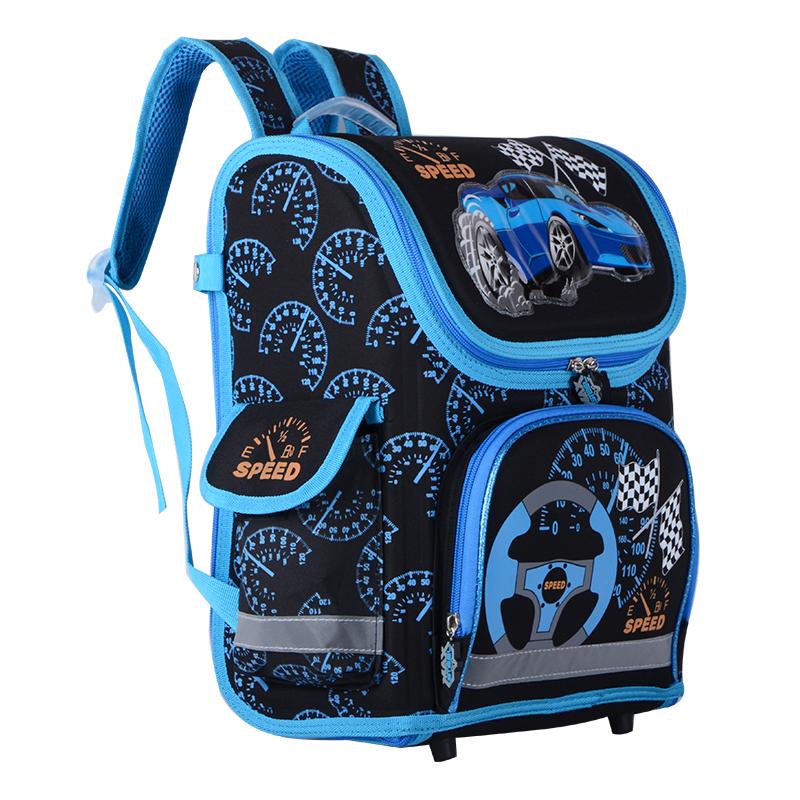 حقيبة مدرسية مطوية العظام للفتيان 3