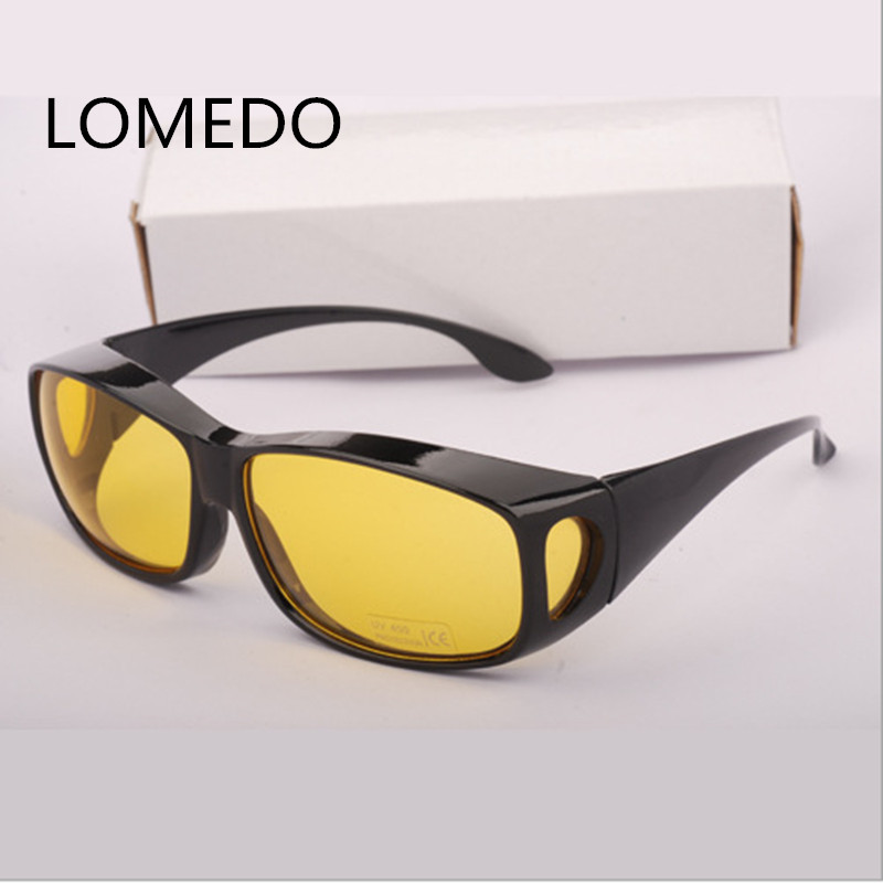 2017 New HD Night Vision Goggles Multi-function Night Driving Glasses Men UV Protection Male Retro Sunglasses