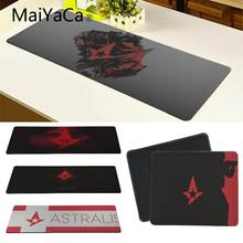 MaiYaCa Hot Sales Astralis gamer play mats Mousepad Fashion Computer Mousepad Gaming Mouse Mats(China)