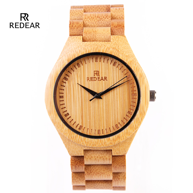 Novelties Real Wood Bamboo Watches Men Fashion Male Bamboo Hand Watch Band Quartz Relogio Masculino Hodinky  Men Ceasuri Gift 47