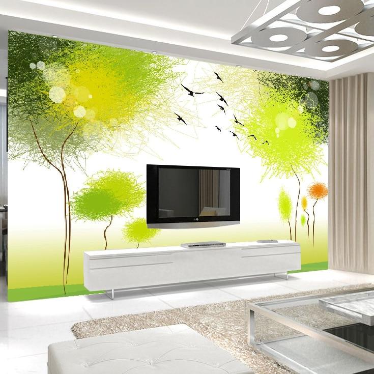 3d Solid Wall Wallpaper Mural Tv Background Wall Large Mural Living Room Bedroom Wallpaper Simple Spring Spring Wallpapers Free Wallpaper For Bedroom Wallswallpaper Set Aliexpress
