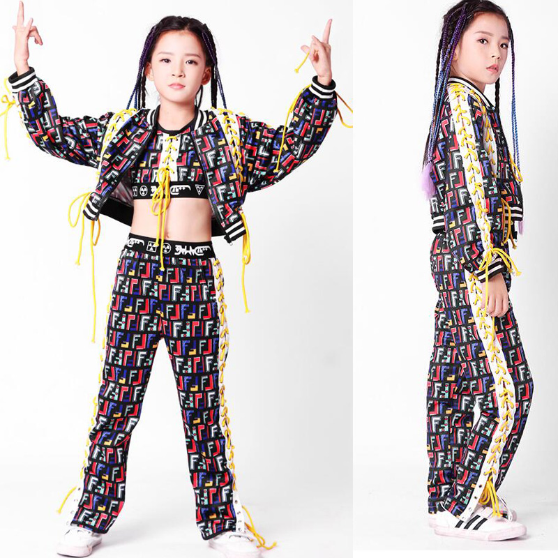 Kids Hip Hop Clothing for Girls Boys Coat Jogger Pants Kids Jazz Dance Costumes Set Ballroom Dancing Clothes Children OutfitsKids Hip Hop Clothing for Girls Boys Coat Jogger Pants Kids Jazz Dance Costumes Set Ballroom Dancing Clothes Children Outfits