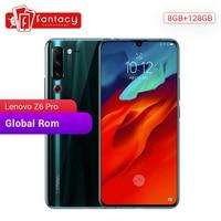 Global Rom Lenovo Z6 Pro 8GB 128GB Snapdragon 855 Octa Core 6.39″ 1080P Display Fingerprint Smartphone Rear 48MP Quad Cameras Lenovo Phones
