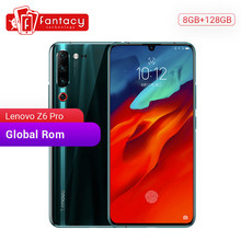 "Global Rom Lenovo Z6 Pro 8GB 128GB Snapdragon 855 Octa Core 6.39"" 1080P Display Fingerprint Smartphone Rear 48MP Quad Cameras(China)"