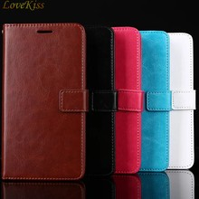 Leather Flip Wallet Phone Case For Samsung Galaxy A3 A5 A7 2016 J3 J5 J7 2017 Max J5 J7 J2 Prime A8 Plus 2018 G355H S7562 Cover(China)