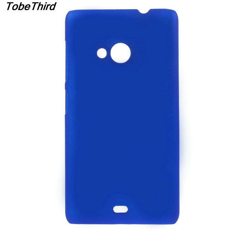 TobeThird For Microsoft Lumia 535 Case Rubberized Hard Shell Mobile Phone Cover Case for Microsoft Lumia 535 / 535 Dual SIM