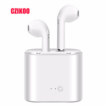 i7s Bluetooth Earphone Headphones Sport Headset in Ear Stereo Buds Wireless Mini Earphones Headphone For iPhone Samsung