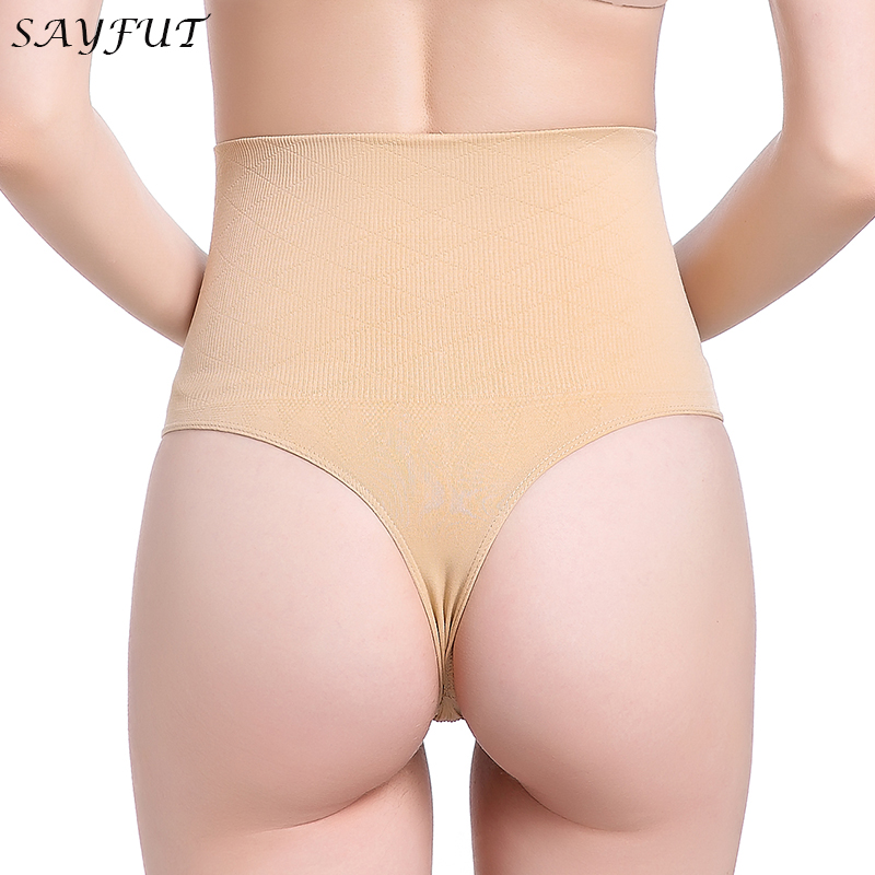 ef0098d6c88 SAYFUT Women s Tummy Control Panties Slimming Underwear Shapewear Pants  Body Shaper Control Waist Cincher Firm Bodysuits