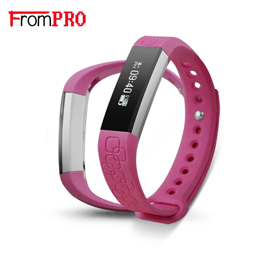 FROMPRO M1 Smart Wristband Smart Band Bracelet Health Fitness Tracker Heart Rate Watches Pedometer Anti lost