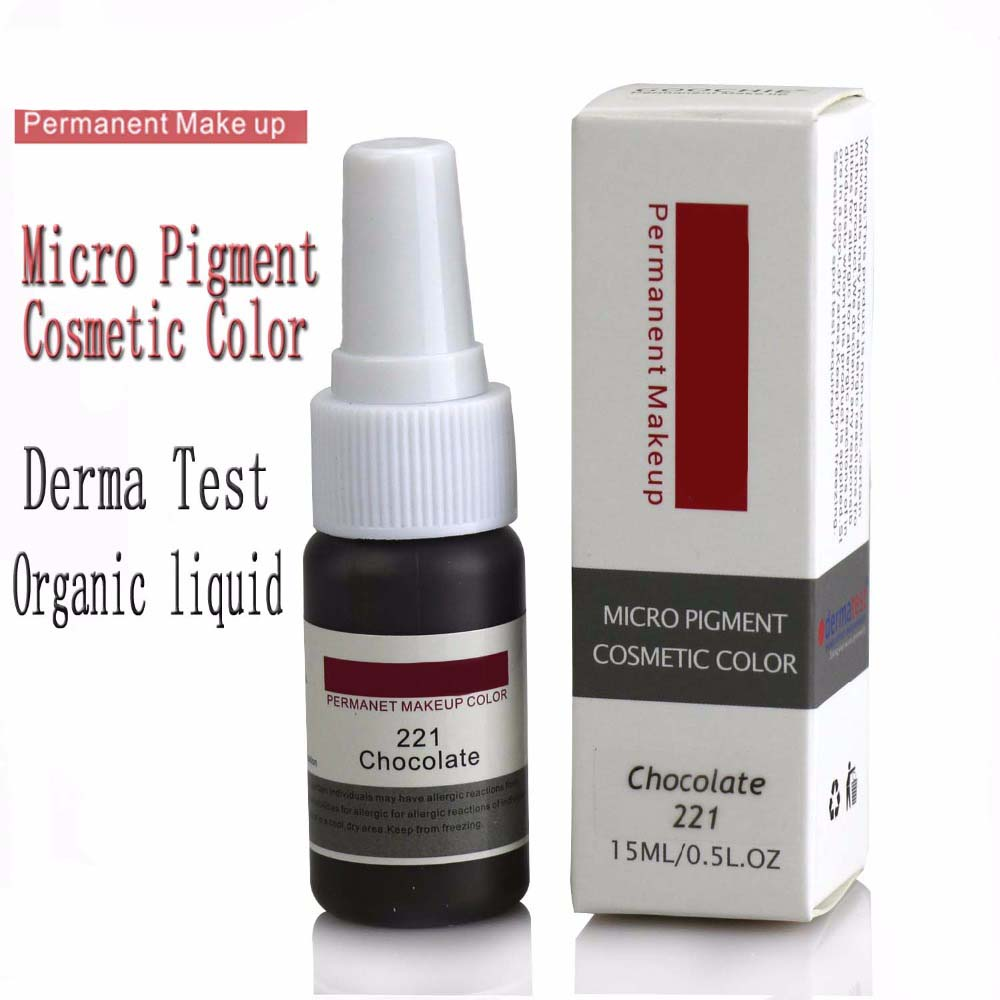 Original Permanent Makeup Eyebrow pure organic liquid pigment ink 1 2Oz 15ml for eyebrow PMU