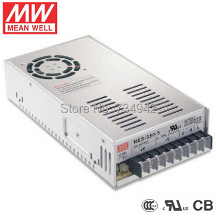 MEANWELL 24V 350W UL Certificated NES series Switching Power Supply 85-264V AC to 24V DC meanwell 24v 60w ul certificated lpv series ip67 waterproof power supply 90 264v ac to 24v dc