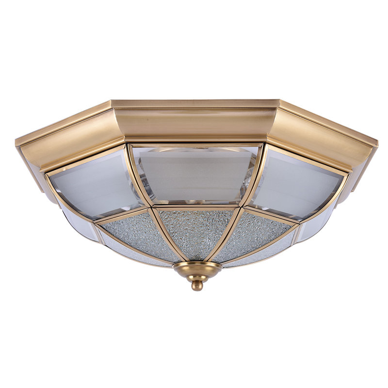 Buy copper glass ceiling lamps aisle - Waterproof bathroom ceiling lights ...
