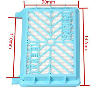 Image 3 - 2pcs Vacuum Cleaner Accessories HEPA Filters+12cm Filter Element For Philips FC8712 FC8714 FC8716 FC8720 FC8722 HEPA Filter