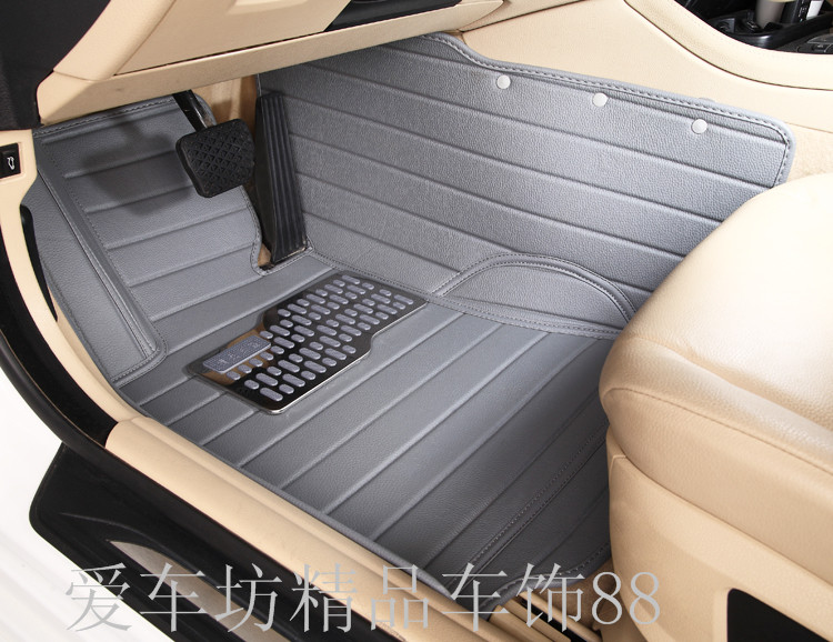 i vehicle for a full surround feet car mats car floor carpet for 06/07/08/09/10/11/12 Lancerpajero V93V73 Mitsubish