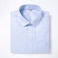 Men's Standard fit Non Iron Dress Shirt Button Closure Formal Business Long Sleeve Wrinkle Resistant Easy Care Shirts