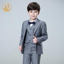 Nimble Suit for Boy Terno Infantil Boys Suits Weddings Costume Enfant Garcon Mariage Disfraz Formal 2018