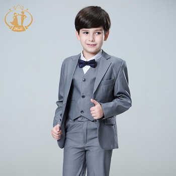 Nimble Suit for Boy Terno Infantil Boys Suits for Weddings Costume Enfant Garcon Mariage Disfraz Infantil Boy Suits Formal 2018 - DISCOUNT ITEM  42% OFF All Category