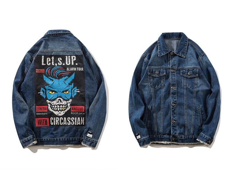 Printed Denim Jacket 1