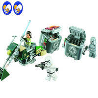 BELA 10574 Star Wars 7 The Force Awakens Rebel Alliance Battle Pack Action Figures Building Blocks