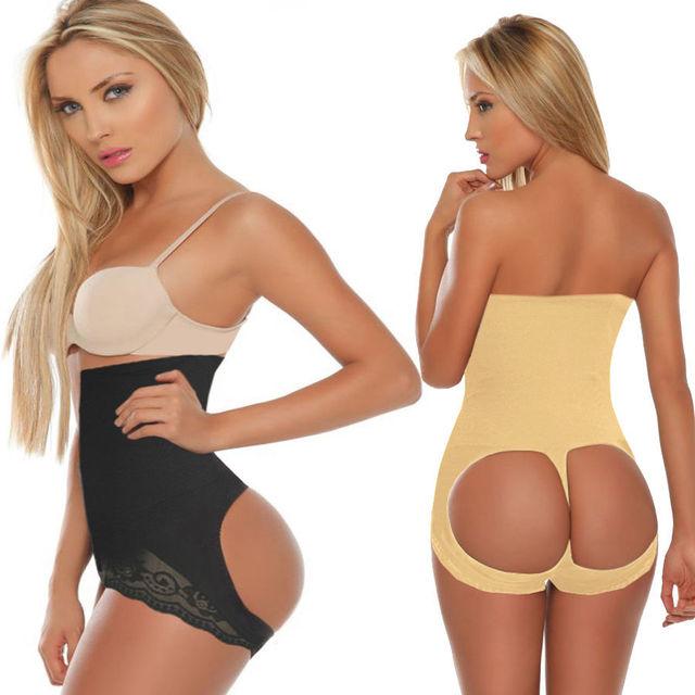 Mulheres Sexy Carry nádega vespa - cintura Cincher aço desossado espartilho fino corpo Shapers Shapewear Under Bust