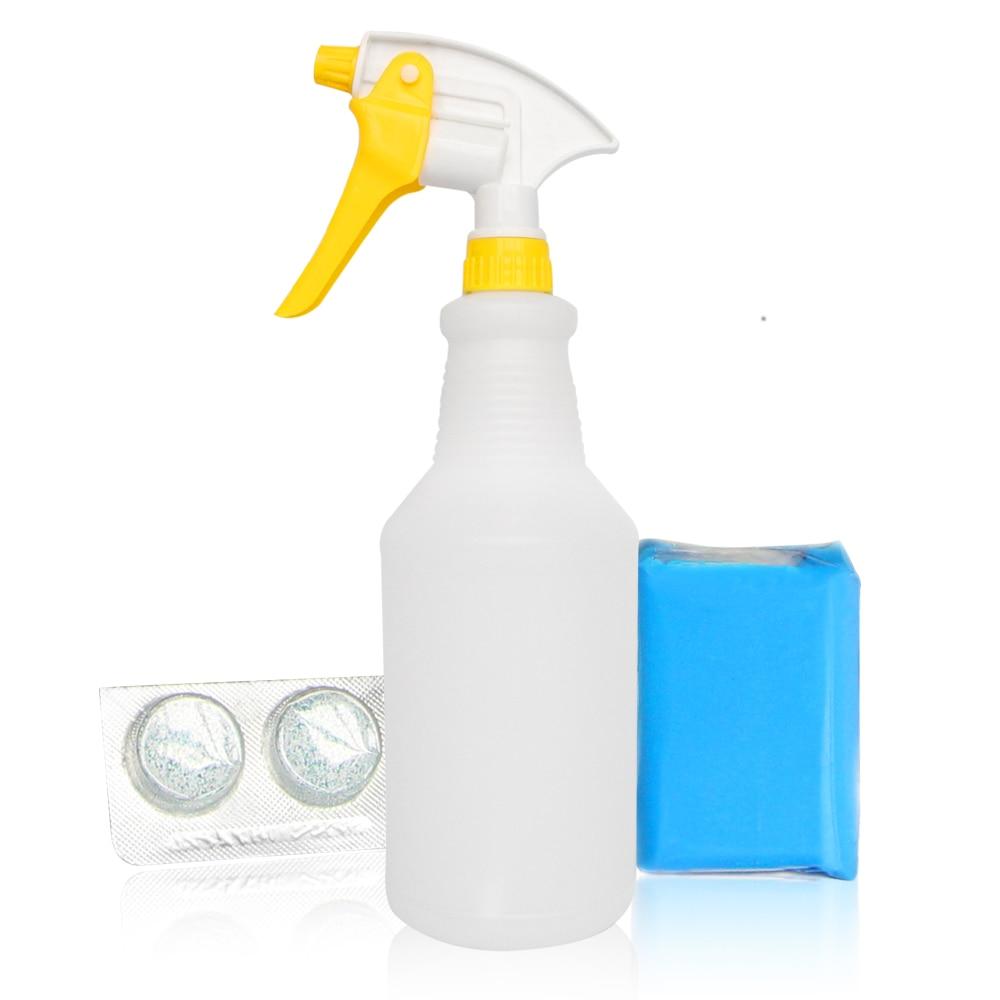 Voiture Détaillant Kit 100g Clay Bar Avec Vaporisateur 2 pcs Argile Magique Bar Lubrifiants Argile Compagnon De Voiture Peinture outils de nettoyage Kit