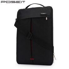 Bolso de hombro de la manga del ordenador portátil de la tableta Convertible de la marca POSEIT para HP Dell Acer Apple Sony LG 11 12 13,3 14 15,6 pulgadas