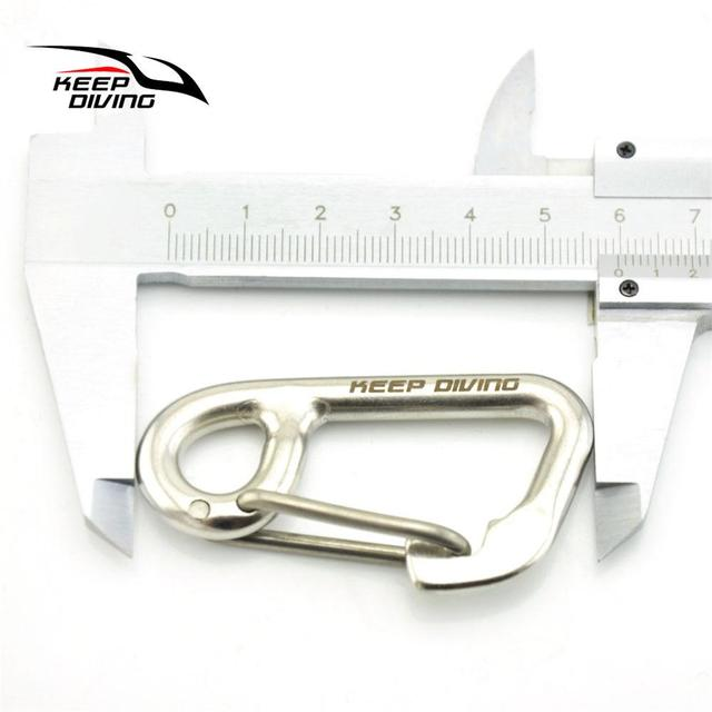 Stainless Steel Diving Swimming Buckle Safety Gear Water Sport Buckle