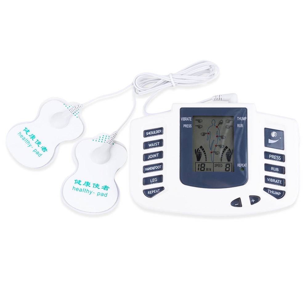 Health Care Electronic Body Slimming Pulse Massage For Muscle Relax Pain Relief Stimulator Tens Acupuncture Therapy Machine low frequency laser pulse rhinitis treatment anti snore apparatus sinusitis nose therapy massage health care allergy reliever