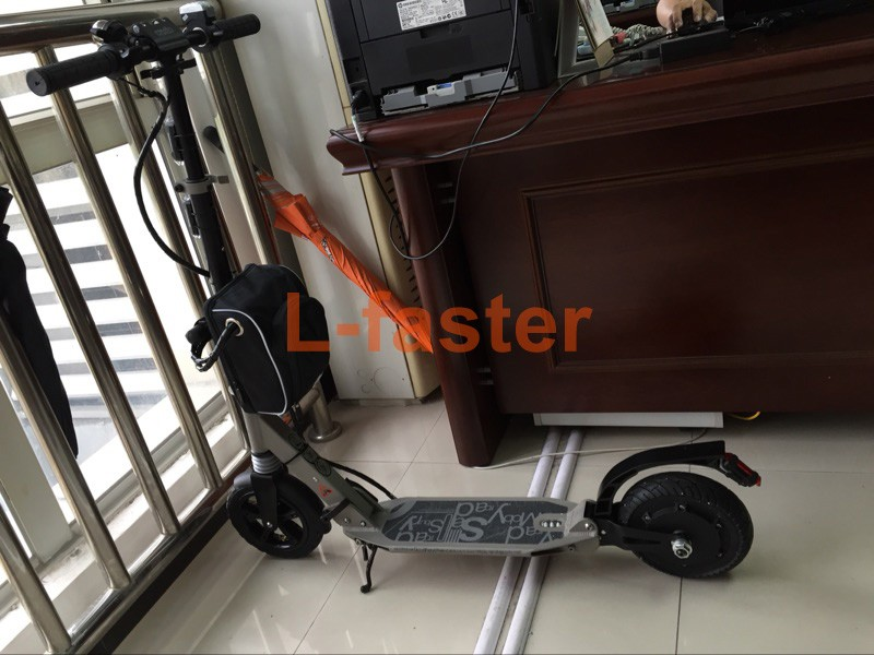 US $178 98 10% OFF|36V 350W ELECTRIC SCOOTER CONVERSION KIT 8 INCH  BRUSHLESS HUB MOTOR KIT FOR KICKSCOOTER DIY ELECTRIC TRIKKE SPEED CAN BE  30KM/H-in