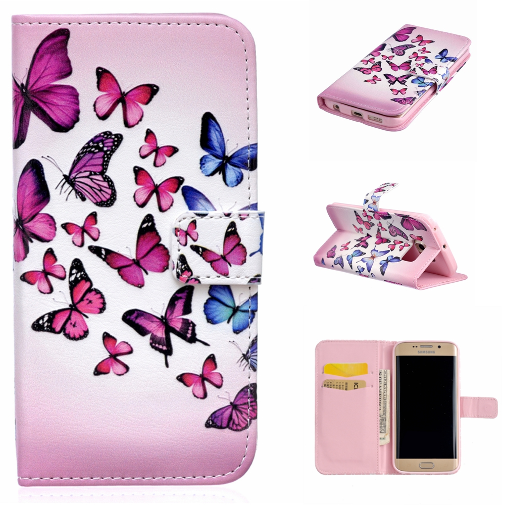 coque for samsung galaxy s6 edge g9250 leather bags. Black Bedroom Furniture Sets. Home Design Ideas