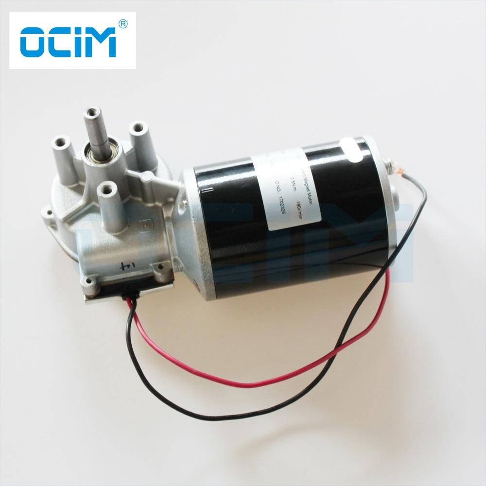 Magnet Motor 80 Watt 24 V Auf Drahtvorschub DIY MIG Draht Fahrer ...