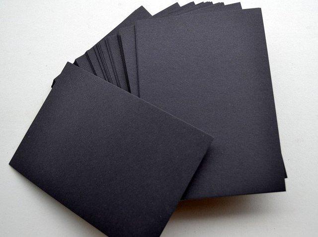 10pcslotper black blank cardsdiy greeting cardsscrapbooking paper black blank cardsdiy greeting cardsscrapbooking kit m4hsunfo