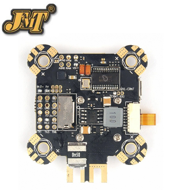 JMT OMNIBUS F4 Pro V4 Flight Control F4+OSD+PDB Damping Flight Control Board for FPV Racing Drone RC Racer omnibus f303 b6 v2 f3 flight controller replace integrate osd hub fpv section board for airframe quadcopter multicopter rc drone