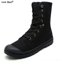 Men Boots Shoes Male Desert Work Ankle Botas Tactical Men's Working Combat Hunting Military Stitching Canvas Motorcycle778