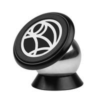 360 Degree Magnetic Car Dashboard Mobile Phone Mount Holder Magnet Rack Steelie Car Kit For IPhone