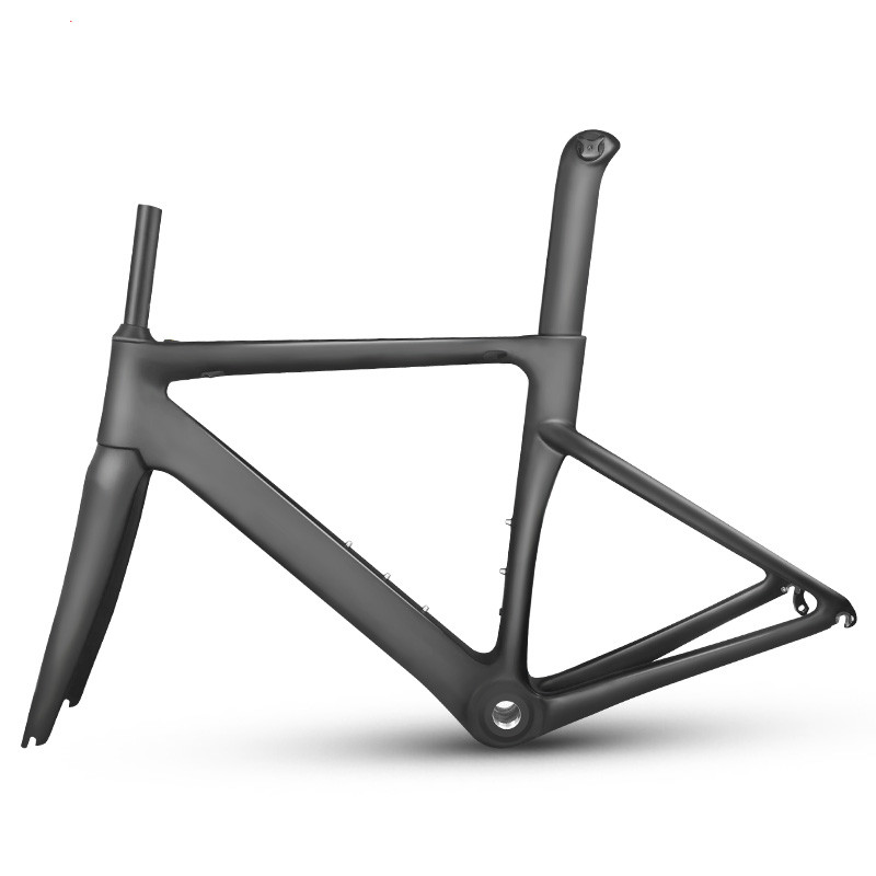 MTB New Carbon Fiber Road Frame Mechanical Bicycle Frame Bike Carbon Road Frame+fork+seatpost+headset Carbon Road Bike