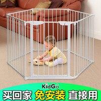 Лидер продаж в мире kidgo марка металла материал легко собрать Детская безопасность игрушечный забор
