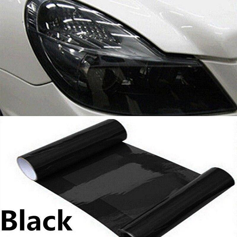 VViViD8 Smoked tint film headlight taillight 1ft x 5ft transparent vinyl wrap