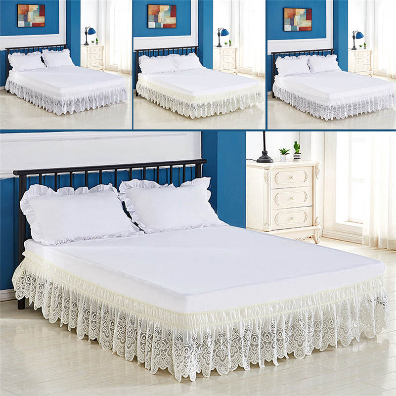 Queen Size Bed Skirt White Skirts