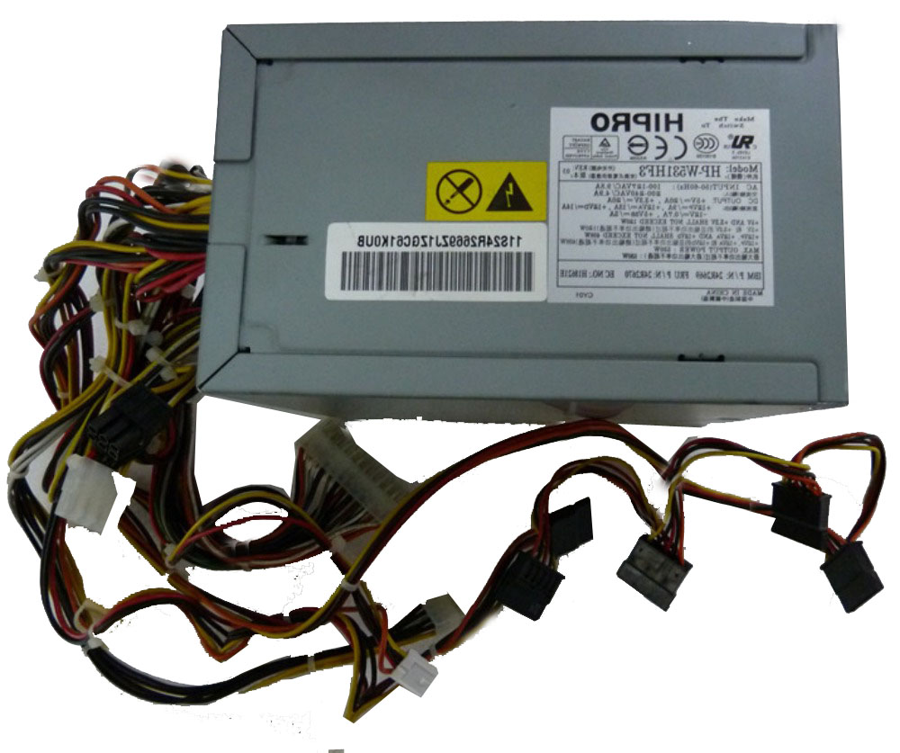 ФОТО 24R2669 24R2670 W531HF3 530W xSeries 226 Power tested working good