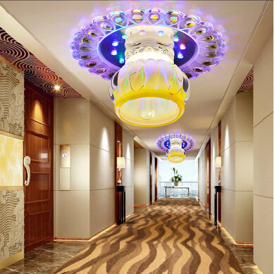 Lights & Lighting Creative Square Led Crystal Ceiling Light,applicable For Corridors,porches And Hallways Lampada Led Abajur 20cm Ac220-240v To Win A High Admiration And Is Widely Trusted At Home And Abroad.