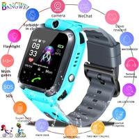 relogio feminino 2019 New relojes Children Watch OLED Smart Watches Fashion Kid Cute soft Silica gel Watch Girl Waterproof clock
