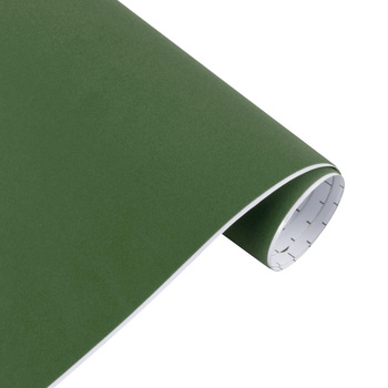 10/30*100cm Suede Vinyl Film Velvet Fabric Car Change Color Sticker Adhesive DIY Decoration Decal Auto Motorcycle Accessories - Army Green, 10x100cm