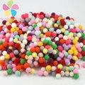 288 pçs/lote 10mm opção multi bolas de pom poms pompons macio diy acessórios de decoração de casamento 22010036
