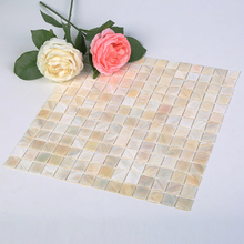Wholesale 11 Pack Oyster Mother of Pearl Square Shell Mosaic for Kitchen Backsplash Bathroom Walls Spa Tile Pool Tile 30*30cm shell mosaic mother of pearl natural colorful kitchen backsplash tile bathroom background shower decor luster wall tile lsbk1005