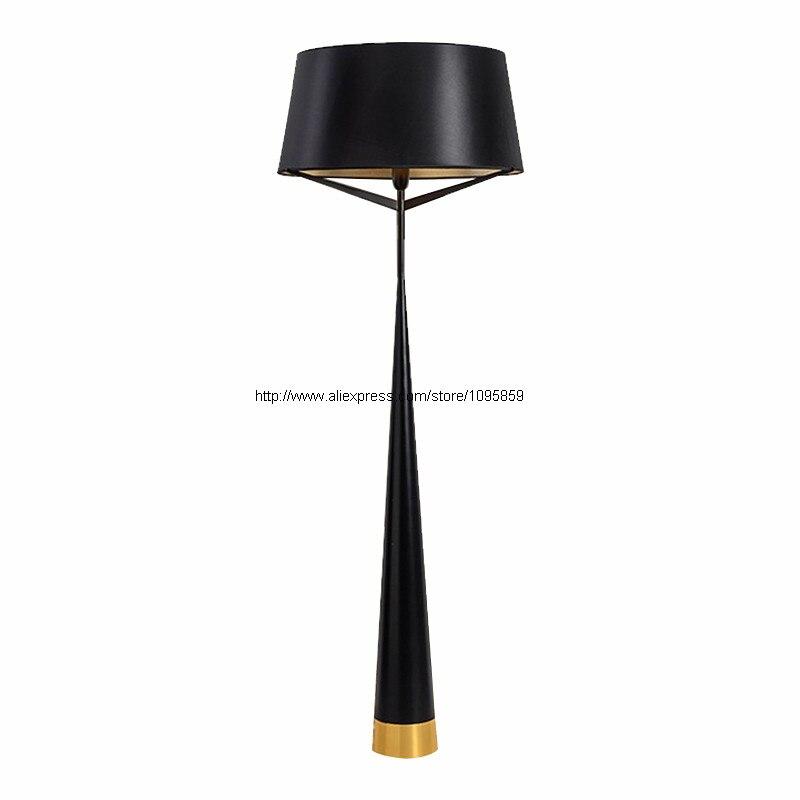 Modern Trigeminal Bedroom Table Lamp White/Black Living Room Restaurant Table Light Floor Lamps