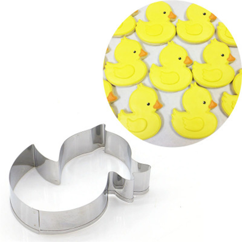 VOGVIGO Animal Suit Baking Mold for Stainless Steel Baking Accessories Duck Mold Decoration Baking Tools New 2019