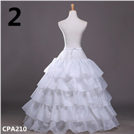 White Wedding Petticoat White Crinoline Tulle Dress for Bridal Underskirt Mermaid Petticoat Girl Jupon Mariage in Petticoats from Weddings Events